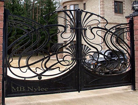 Art Nouveau gate