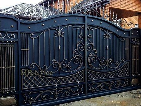 Classic entrance gate