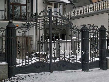 Elegant entrance gate