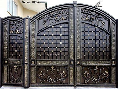 Elegant full forged gate
