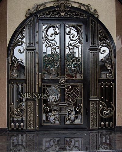 Exclusive forged doors
