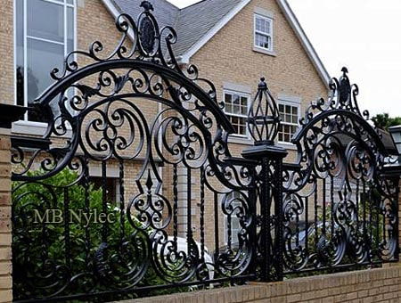 Exclusive forged fence