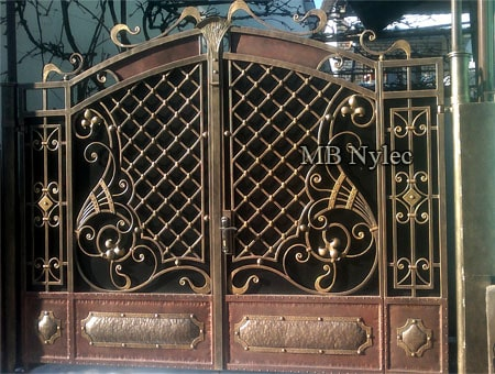 Exclusive full forged gate
