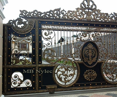 Exclusive oriental palace sliding gate