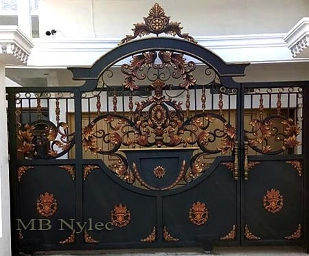 Exclusive oriental style entrance gate