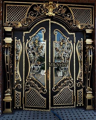 Exclusive steel forged doors