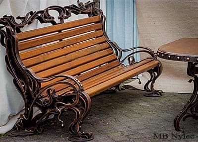 Forged furniture