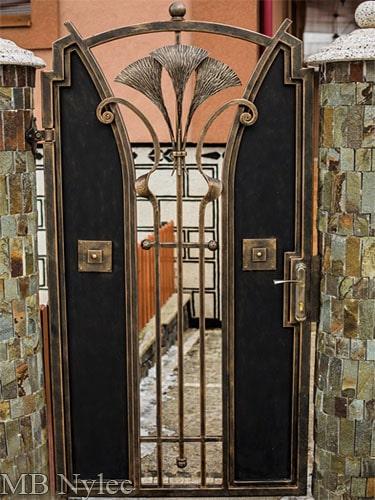 Forged loft vintage entrance vicket