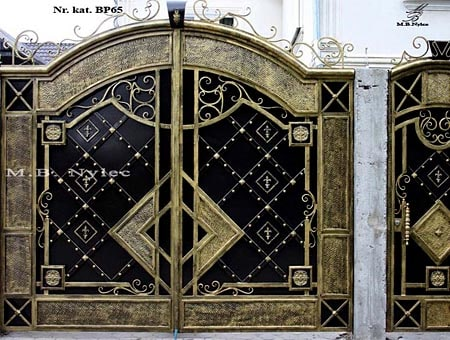 Full forged entrance gate