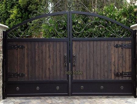 Loft entrance gate