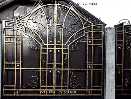 Modern forged gate