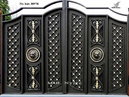Modern gate in the style of Glamor