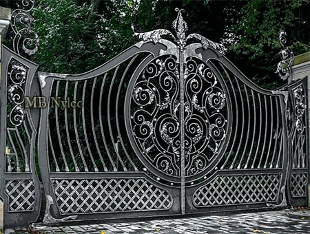 Modern style gate
