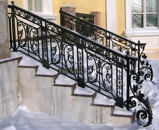 An elegant style balustrade