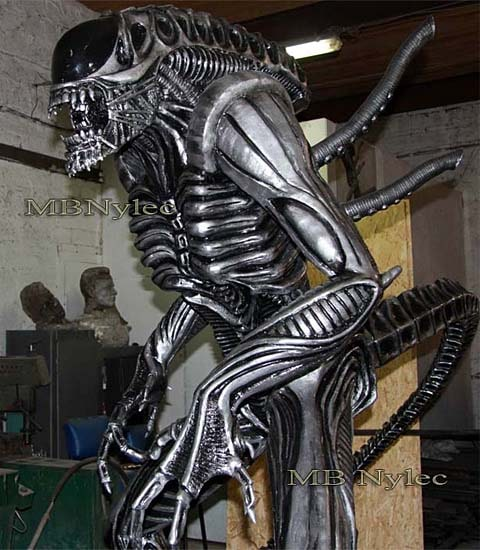 Alien - Aliens - Metal sculpture