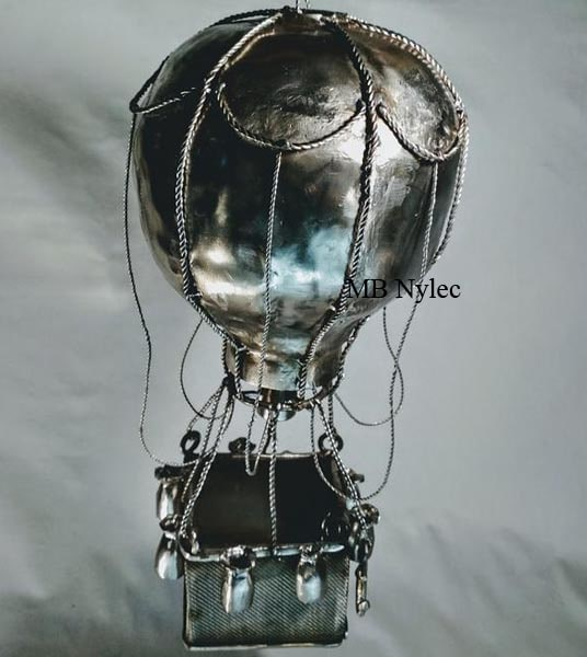 Balloon - stainless steel sculpture