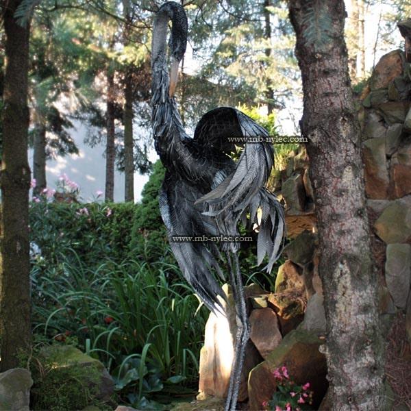 Crane 180cm - Steel sculpture