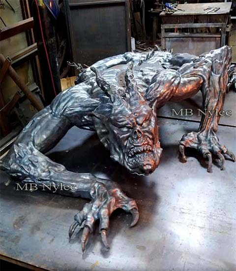 Demon - Steel sculpture 300cm