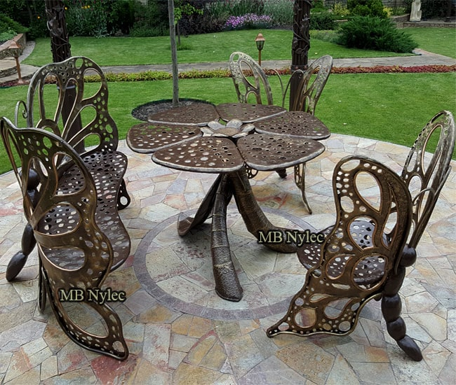 Designer furniture set - butterflies