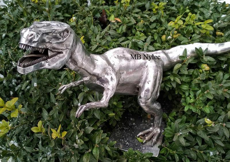 Forged figure of stainless steel - Tyrannosaur