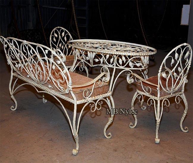 Forged furniture - complete set