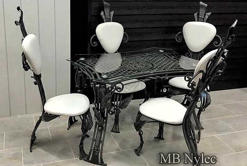 Forged furniture sets