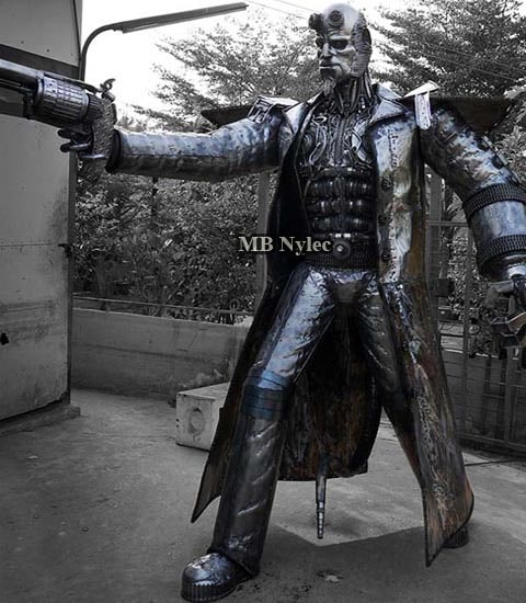 Hellboy - Sculpture metal figure 220cm