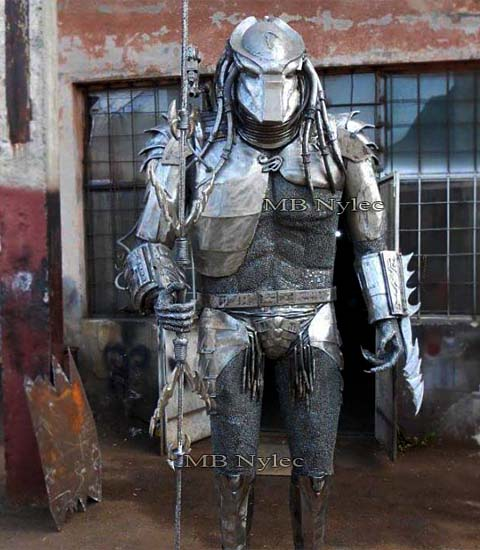 Predator - a figure of steel