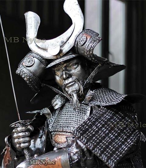 Samurai - steel figure 220cm