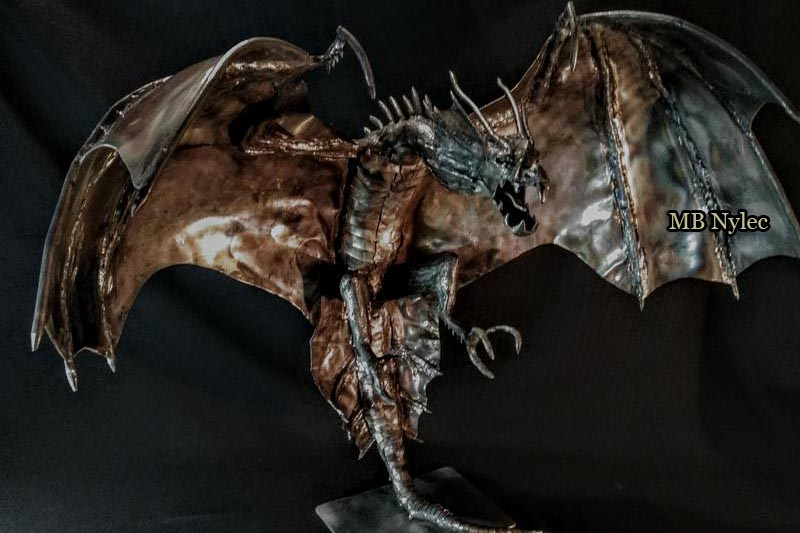 Stainless steel figure - dragon