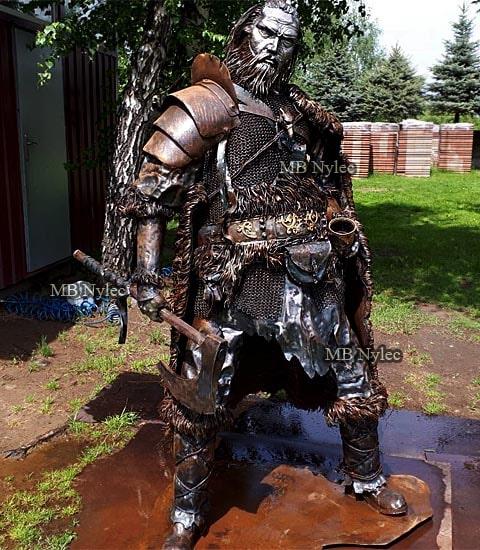 Viking - steel figure 220cm