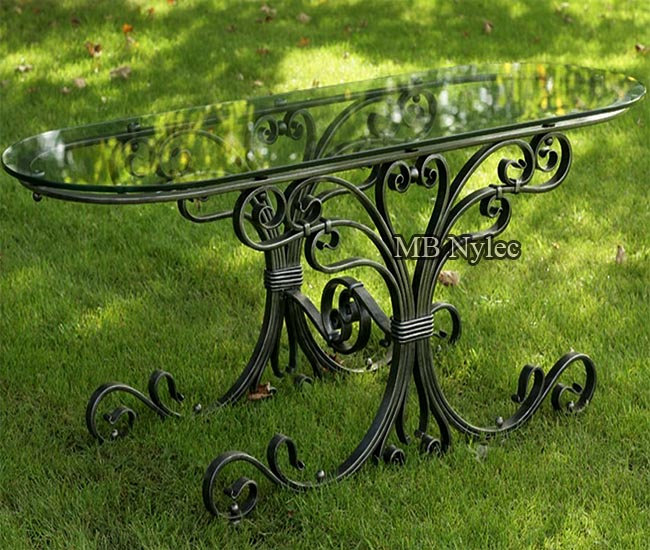 Classic forged table