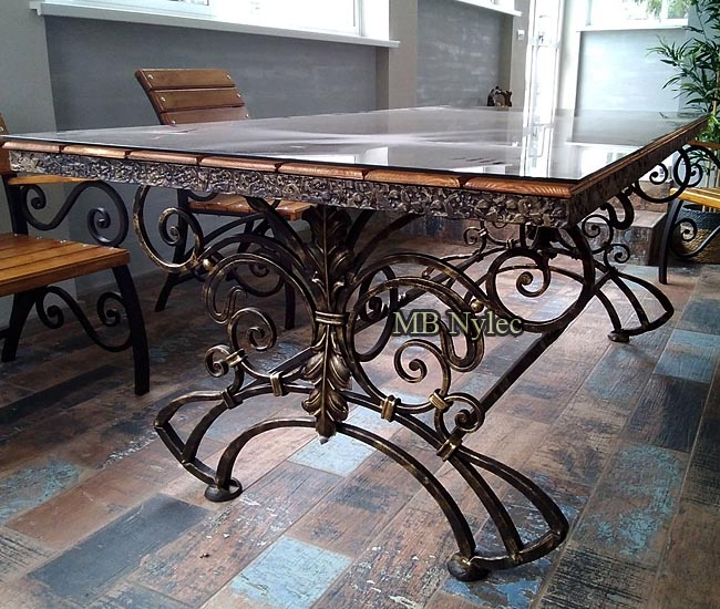 Exclusive forged table