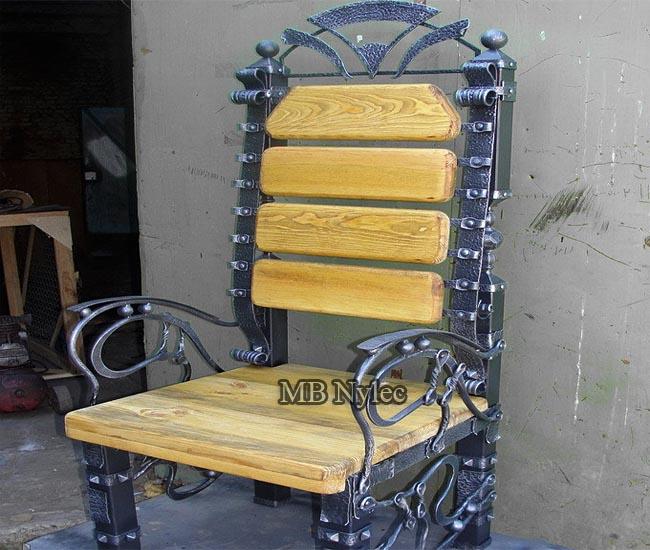 A forged loft chair