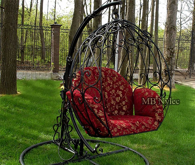 Forged hanging chair - egg