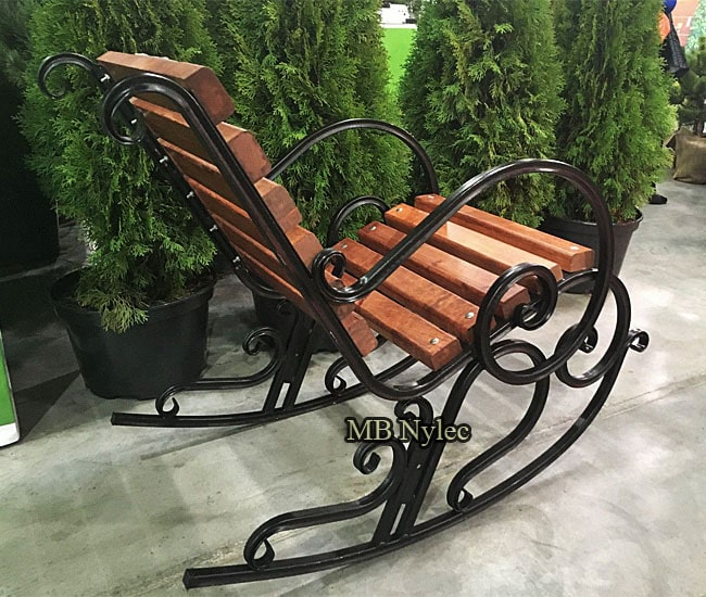 Forged rocking chair