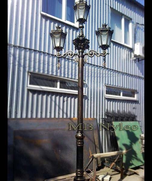 Classic forged lantern