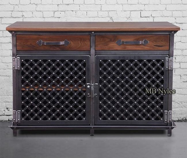 Designer loft chest of drawers