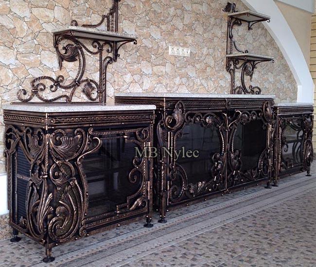 Designer wrought iron furniture