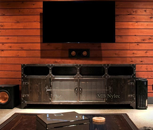Exclusive industrial modern TV cabinet