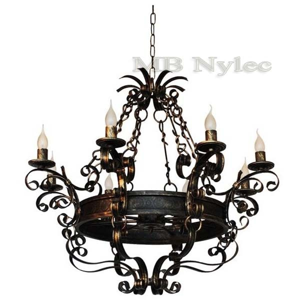 Forged chandelier