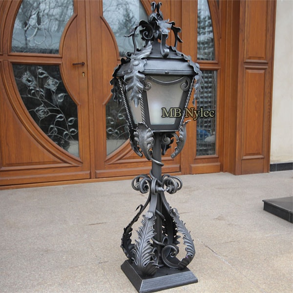 Forged lamp in manor style