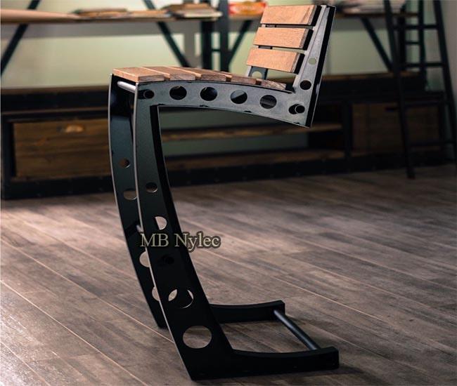 Industrial loft chair
