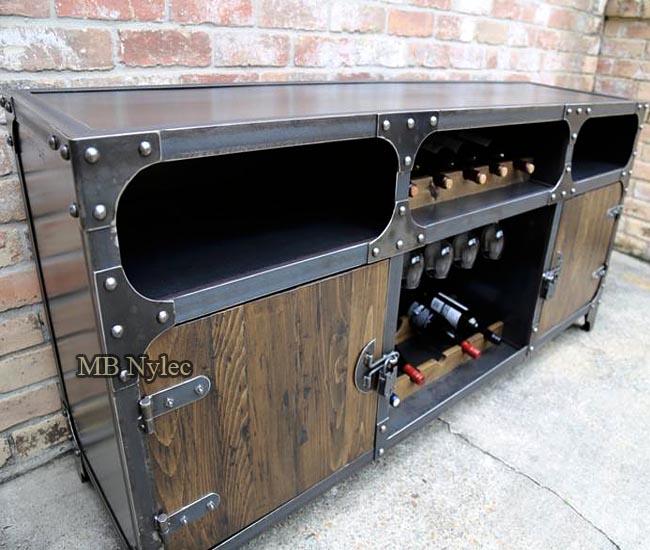 Loft wine cabinet