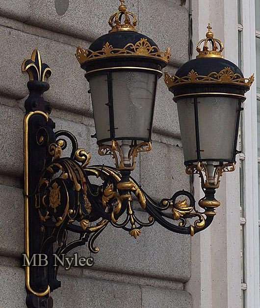 Palace wall lamp