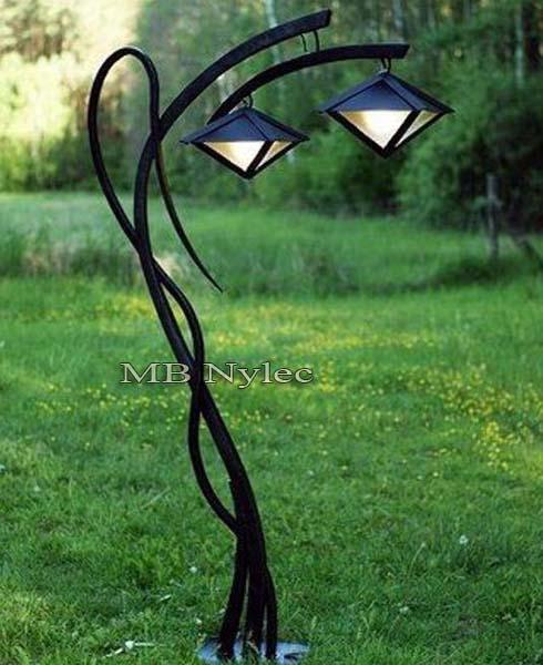 modern forged lamp