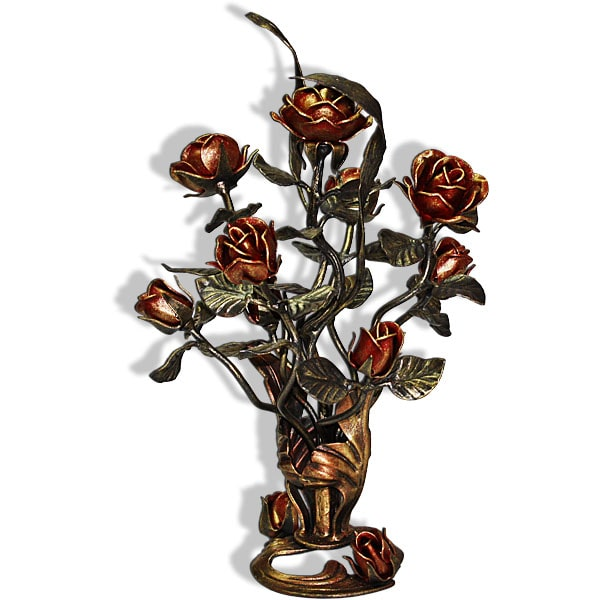 A standing bouquet of wrought roses 60cm