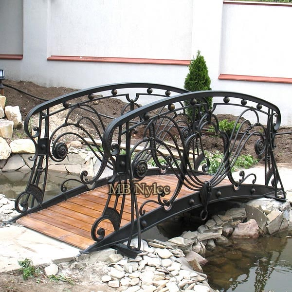 Elegant forged bridge