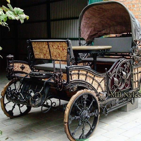 Forged vehicles, carriages