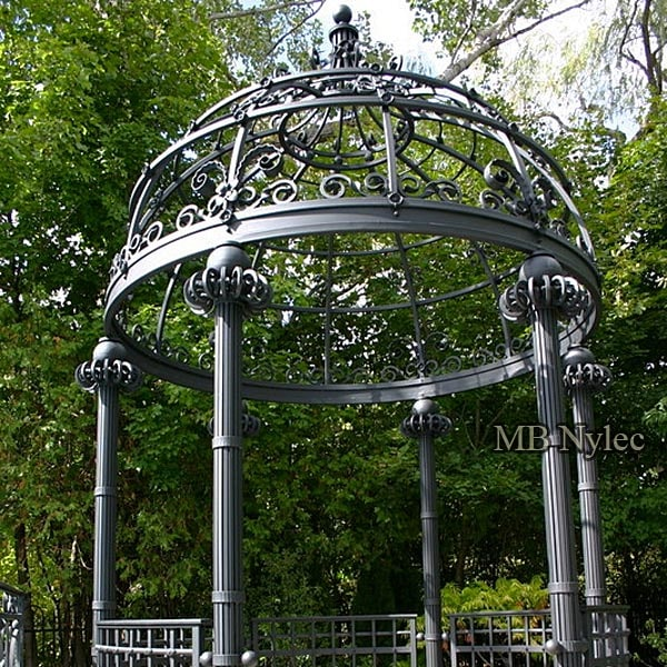 Wrought iron gazebos